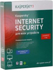 Антивирус Kaspersky Internet Security Multi-Device Russian Edition 1 год на 5 ПК