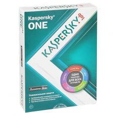 Антивирус Kaspersky ONE 3ПК 1year BOX (KL1931RBCFS)